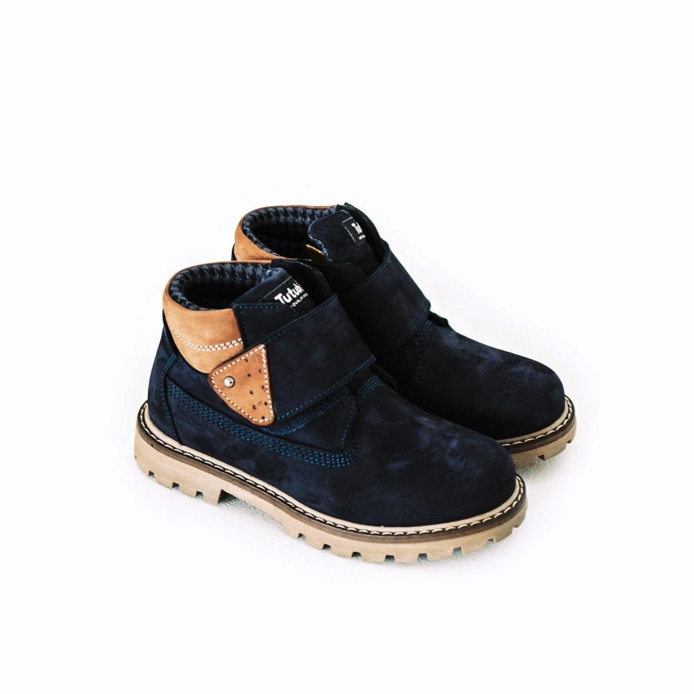 Ботинки на флисе 1624-08 / Tutubi
