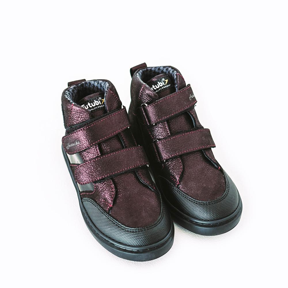 Ботинки на флисе 1613-08 / Tutubi